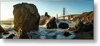 The Golden Gate Bridge Metal Print by Michael Kaupp