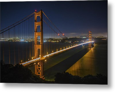 The Golden Gate Bridge Metal Print by Rick Berk
