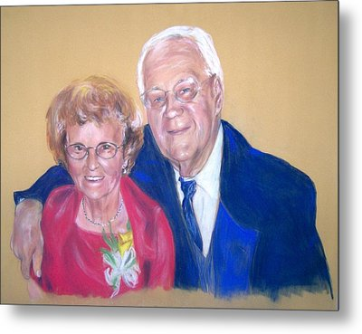 The Golden Years Metal Print by Martha Suhocke