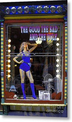 The Good Bad And Ugly Metal Print by Bruce Bain