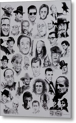 The Good Bad And Ugly Metal Print by Tony Ruggiero