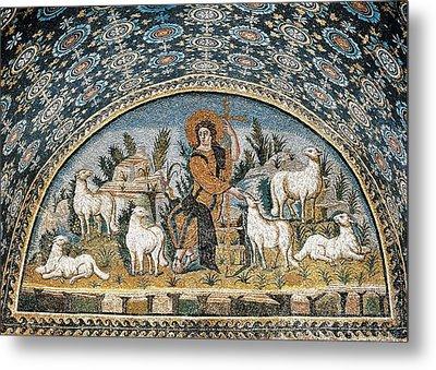 The Good Shepherd. 5th C. Italy Metal Print