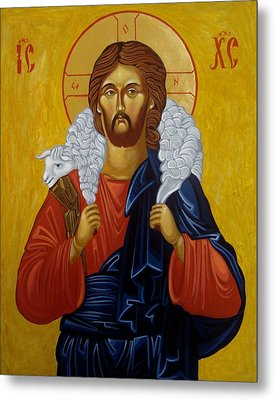 The Good Shepherd Metal Print by Joseph Malham