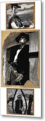 The Good The Bad And The Grouchy Metal Print