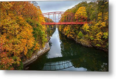The Gorge Metal Print by Bill Wakeley