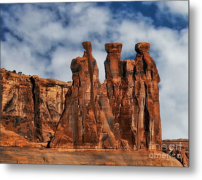 Metal Print featuring the photograph The Gossips by Shirley Mangini