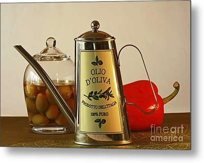 The Gourmet Kitchen Metal Print by Inspired Nature Photography Fine Art Photography