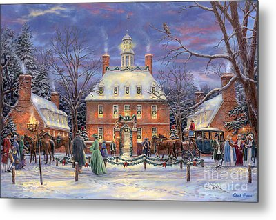 The Governor's Party Metal Print by Chuck Pinson