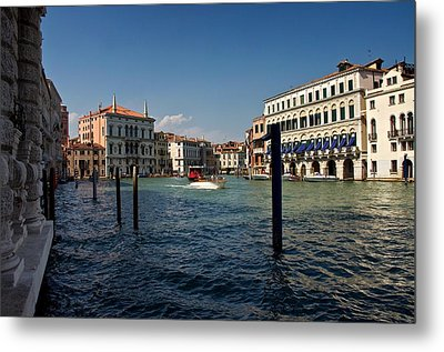 Metal Print featuring the photograph The Grand Canal by Stephen Taylor