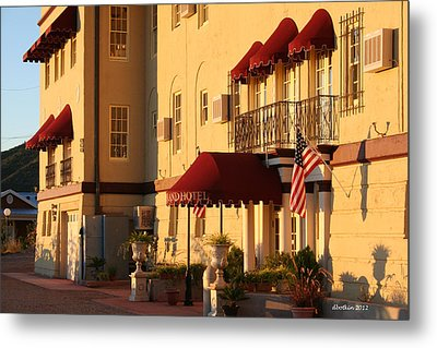 The Grand Hotel Metal Print by Dick Botkin