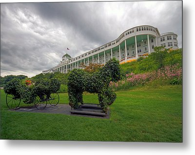The Grand Hotel Mackinac Island Metal Print