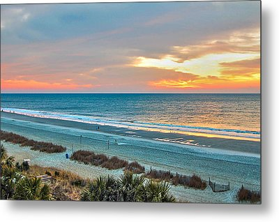 The Grand Strand Metal Print by Donnie Smith