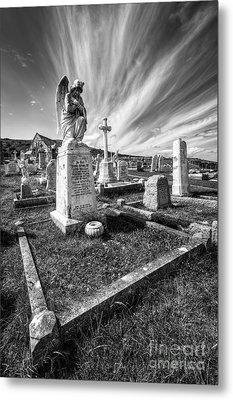 The Graveyard Metal Print by Adrian Evans