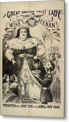 The Great American Prize Lady Metal Print