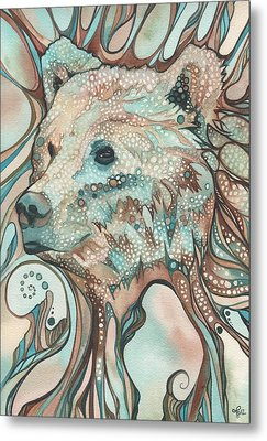 The Great Bear Spirit Metal Print