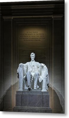 The Great Emancipator Metal Print by Metro DC Photography