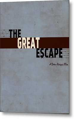 The Great Escape Metal Print by Ayse Deniz