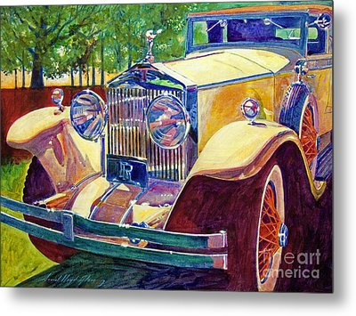 The Great Gatsby Metal Print by David Lloyd Glover