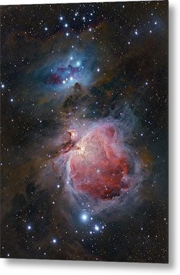 The Great Orion Nebula Metal Print