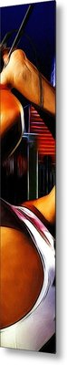 The Great Pretender 3 Metal Print by Steve K
