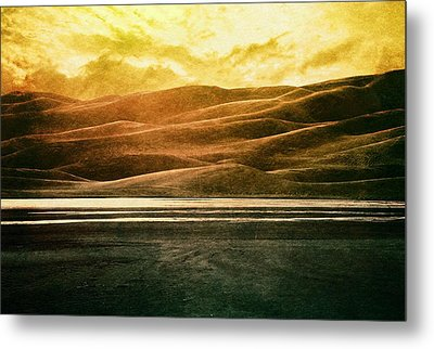 The Great Sand Dunes Metal Print by Brett Pfister