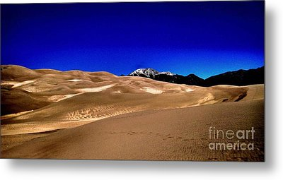 The Great Sand Dunes1 Metal Print by Claudette Bujold-Poirier