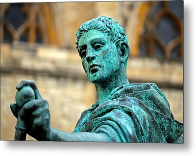 The Great Statue Metal Print by Chris Whittle