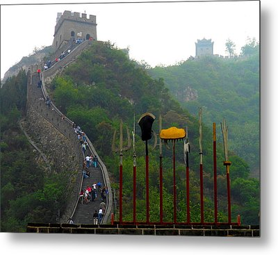 Metal Print featuring the photograph The Great Wall by Kay Gilley