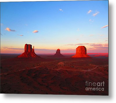 The Greatest View Metal Print by C Lythgo