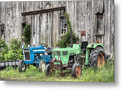 The Green Duetz Metal Print by JC Findley