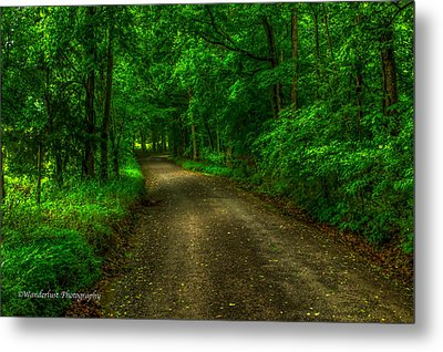 The Green Mile Metal Print by Paul Herrmann