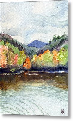 The Greenbriar River Metal Print by Katherine Miller