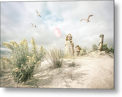 The Greeting Party - Fantasy Art Metal Print by Gary Heller