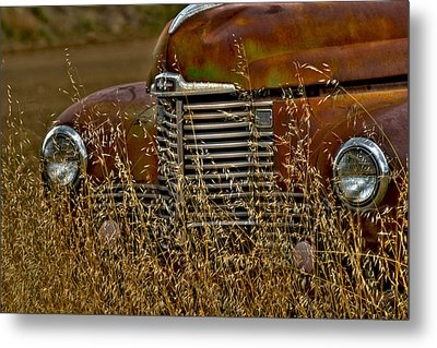 The Grill Metal Print by William Havle