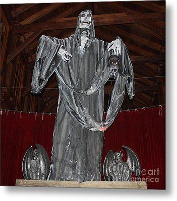 The Grim Reaper Metal Print by John Telfer
