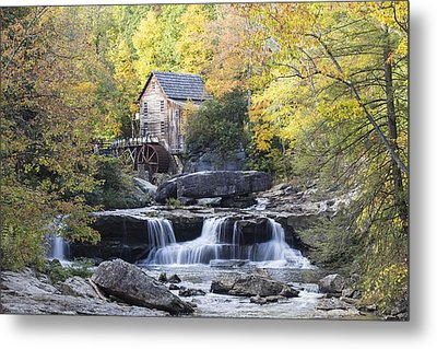 The Grist Mill Metal Print by Amber Kresge