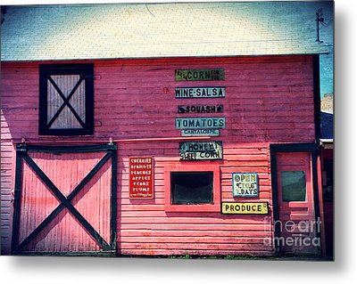 The Grocery Store Metal Print by Sophie Vigneault