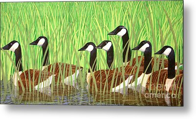 The Group Of Seven Metal Print