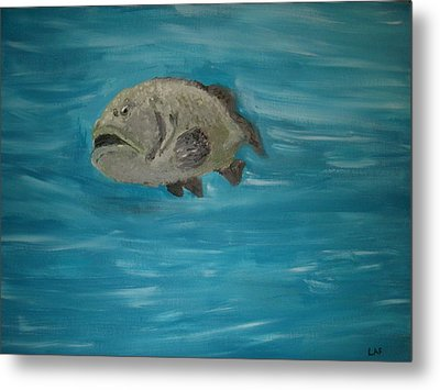 The Grouper Metal Print by Lee Farley