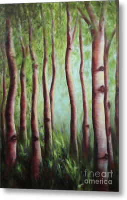 The Grove Metal Print
