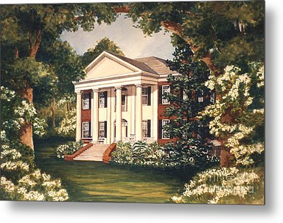 The Grove Tallahassee Florida Metal Print by Audrey Peaty