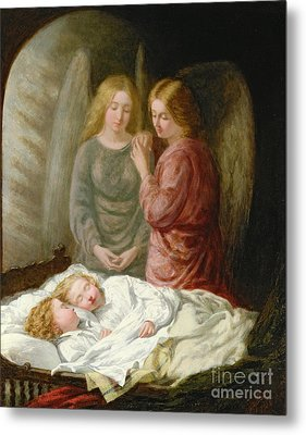 The Guardian Angels  Metal Print by Joshua Hargrave Sams Mann