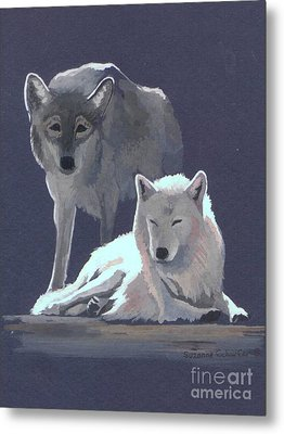 The Guardian Metal Print by Suzanne Schaefer