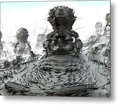 The Guardians Metal Print by Arlene Sundby