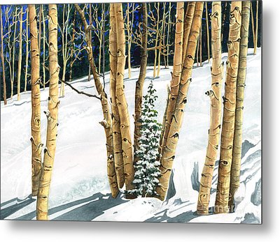 The Guardians Metal Print by Barbara Jewell
