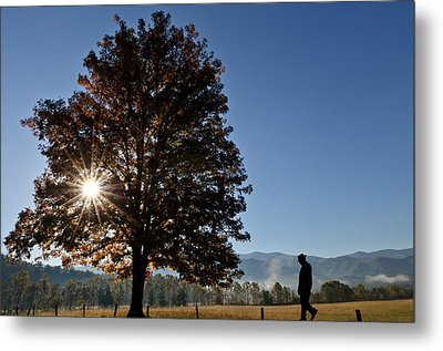 The Guiding Light In Cades Cove Metal Print