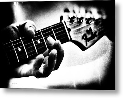 The Guitar Metal Print