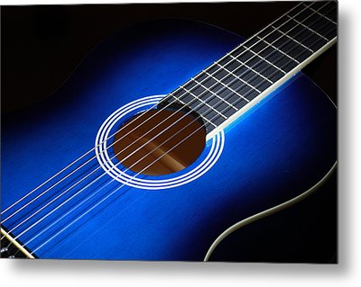 Metal Print featuring the photograph The Guitar by Keith Hawley