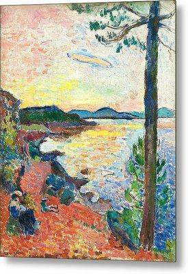 The Gulf Of Saint Tropez Metal Print by Henri Matisse