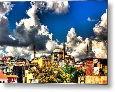 The Hagia Sophia Metal Print by Mark Alexander